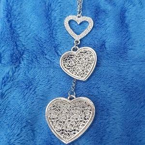 3/$35 Triple Heart Chain Beautiful